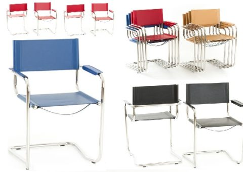 Toller Stuhl in edlen Farben