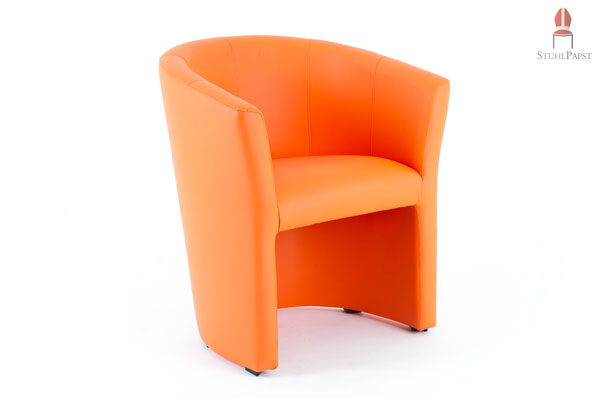 Tv sessel leder orange das beste aus wohndesign und for Billige sessel
