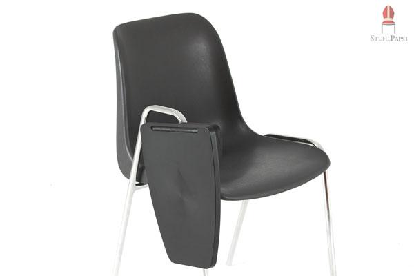 60 x collegestuhl seminarstuhl mit klappbarer schreibplatte zum paket sonderpreis lieferung auf. Black Bedroom Furniture Sets. Home Design Ideas